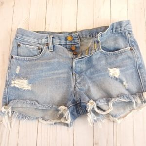 🎈BDG Button Fly Jean Shorts